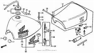 Fuel Tank   Seat For Honda Z50 1981 Year