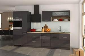 Hängeschrank Küche 100 Cm : h ngeschrank m nchen 1 glasklappe 1 regal 100 cm breit grau graphit k che k chen ~ Bigdaddyawards.com Haus und Dekorationen