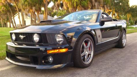 ford mustang 4 6 v8 roush 427r convertible 2008 caliber cars