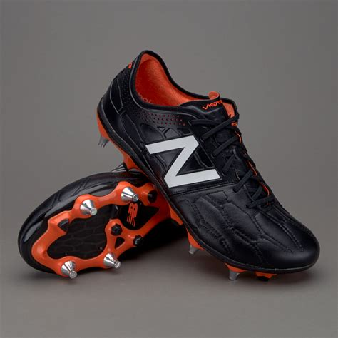sepatu bola new balance original visaro ii k leather sg black