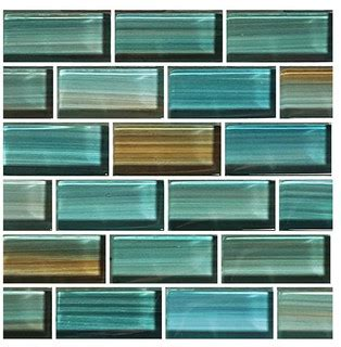 glass tile blends watercolors series contemporary