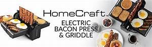 homecraft fbg2 bacon press griddle quikcompare
