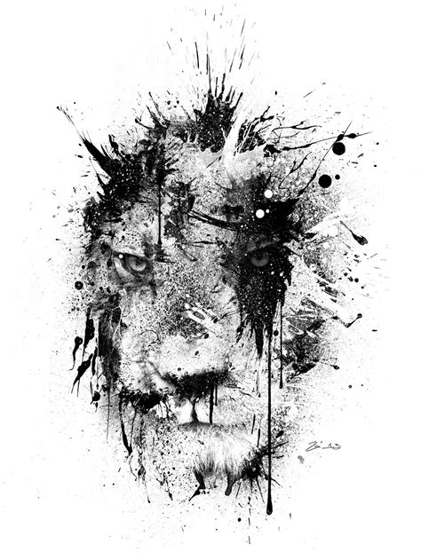 Expression Series – Zim Design | Lion art, Lion tattoo