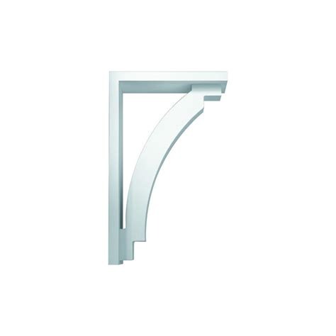 Fypon Corbels by Fypon 19 1 2 In X 31 1 2 In X 7 1 4 In Polyurethane