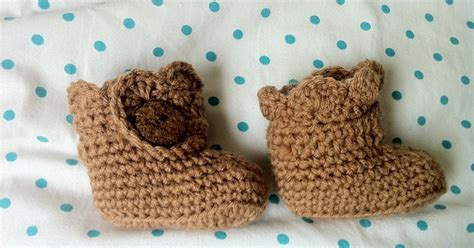baby ls the way i crochet crochet baby ugg booties