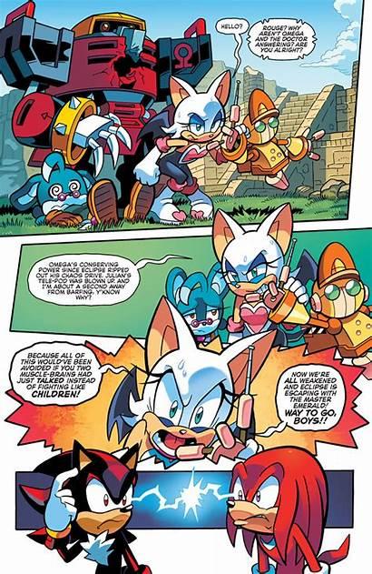Sonic Archie Comics Universe Sonicuniverse Rouge Comic