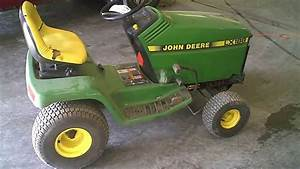 Lot 1578a John Deere Lx188 Lawn Tractor Running  U0026 Driving
