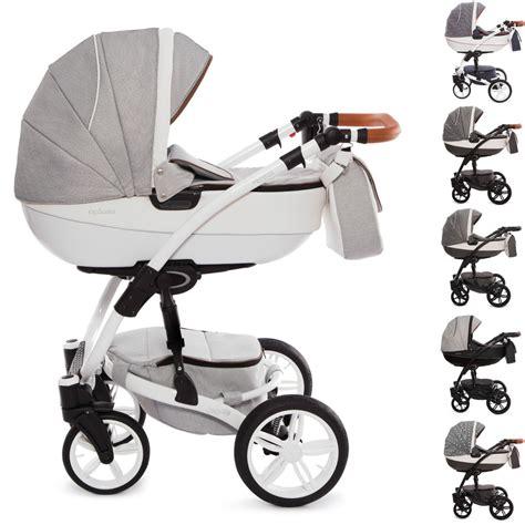 Exclusive Kombi Kinderwagen, 2in1 mit Babywanne