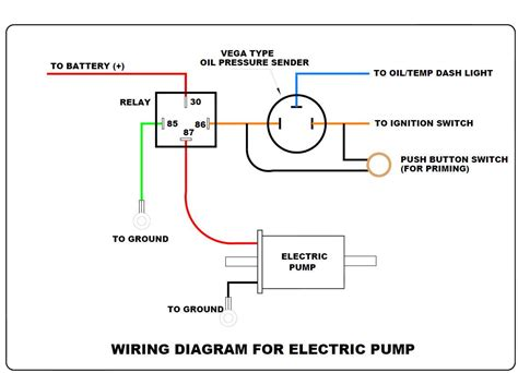 stuck  wiring  electric fuel pump