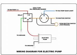 Electric Fuel Pump Switch Wiring Diagram