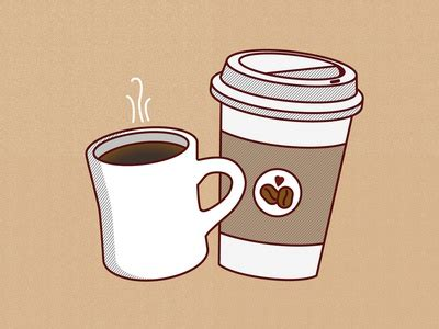 Download high quality coffee shop cartoons from our collection of 41,940,205 cartoons. free coffee wallpaper :) by Alexis Rawlins - Dribbble