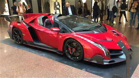 lamborghini veneno roadster  hypercar startup