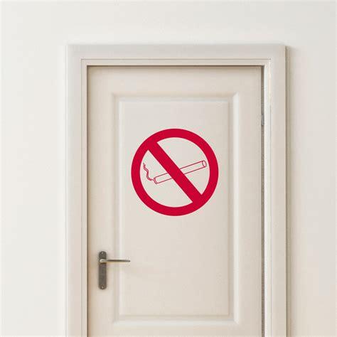 stickers pour porte de chambre sticker porte défense de fumer stickers chambre ado