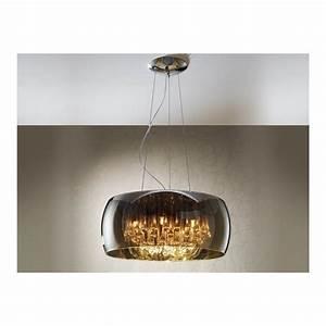 Argos cm smoked drum ceiling pendant light