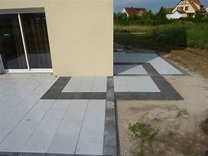 Terrasse Sur Sable : dalle terrasse beton 50x50 dalle de terrasse gedimat materiaux bricolage dalle beton terrasse ~ Melissatoandfro.com Idées de Décoration