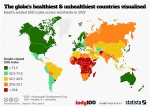 The unhealthiest countries in the world | indy100