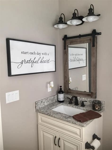 Like many people, i have wondered how to decorate a bathroom. 29 Small Guest Bathroom Ideas to 'Wow' Your Visitors - Harp Times