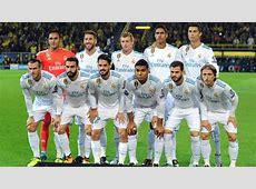 Real Madrid » Plantilla 20172018