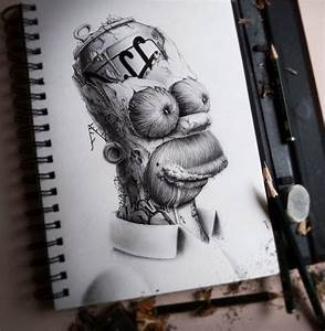 Artist Creates Creepy Drawings Of Your Favourite Cartoon