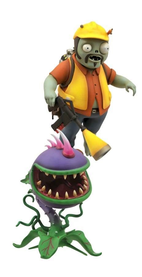 pvz engineer zombie minimates chomper pack dst clerks releases marvel figures toyark
