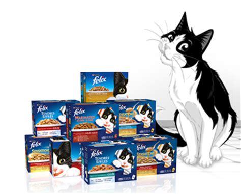 marque pate pour chat felix 174 nourriture pour chats bo 238 tes et sachets fra 238 cheur