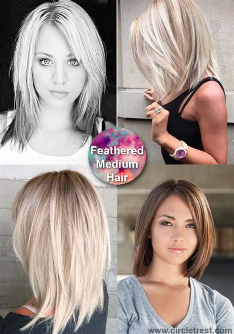 40 trendy medium hairstyles for of all ages circletrest