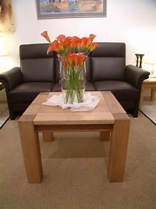 Holzplatte Massiv Eiche : couchtisch wohnzimmertisch sofatisch ecktisch modell variato 4 stollen mit holzplatte ~ Markanthonyermac.com Haus und Dekorationen