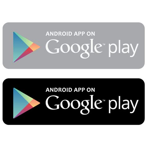 Android App On Google Play Vector Logo  Free Download