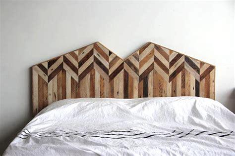 tete de lit bois patine meubles en bois recycl 233 par ariele alasko esprit cabane
