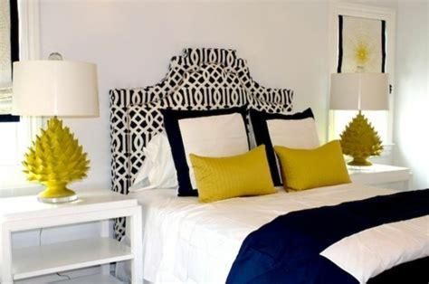 chambre bleu et jaune décoration chambre moderne l 39 alliance originale bleu et jaune