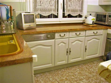 meubles de cuisines conseils pour repeindre cuisine en chêne cuisine