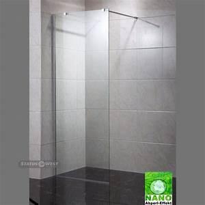Duschwand Glas Walk In : duschwand walk in nano duschabtrennung esg glas 10 mm seitenwand statuswest ~ A.2002-acura-tl-radio.info Haus und Dekorationen
