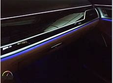 2017 BMW 7 Series Ambiance Lighting System YouTube