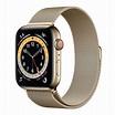 Apple Watch Series 6 (GPS+行動網路) 44 公釐金色不鏽鋼錶殼搭配金色米蘭式錶環 | Costco 好市多線上購物