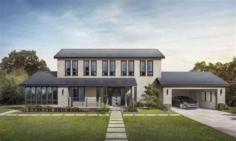 tesla solar roof tesla starts installing solar roofs in california