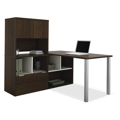 u shaped computer desk with hutch innovative l shaped desk with storage