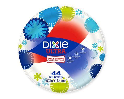 dixie plastic plates dixie paper plates   diameter pathways design pack    office