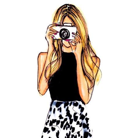 snap  melsys  etsy fashion illustration print