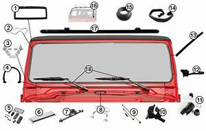 Diagrams For Jeep    Windshield Frames  U0026 Parts    Jeep