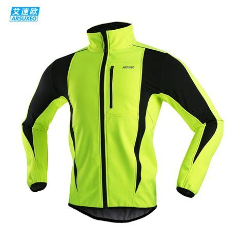 Arsuxeo 2015 Thermal Cycling Jacket Winter Warm Up Bicycle