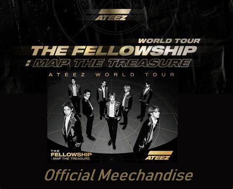 [ATEEZ] ATEEZ WORLD TOUR THE FELLOWSHIP : MAP THE TREASURE ...