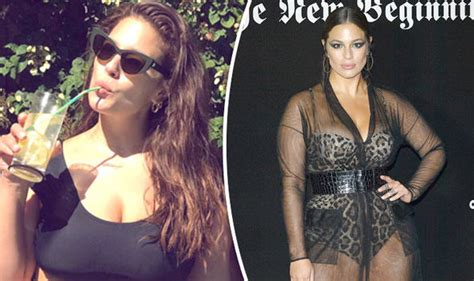 Ashley Graham sparks frenzy as she spills out of racy ...