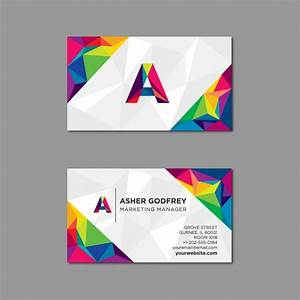 Multi color vectors photos and psd files free download for Business card colors