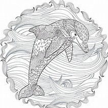 HD Wallpapers Dolphin Print Out Coloring Pages