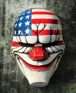 Payday 2 Halloween Masks Drop by Payday The Dallas Clown Mask 14