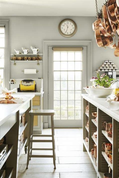 farmhouse kitchen paint martha stewart country decorating rustic schlechter annie