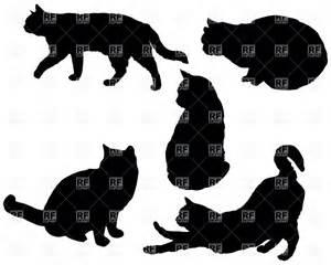 Sitting Cat Silhouette Clip Art