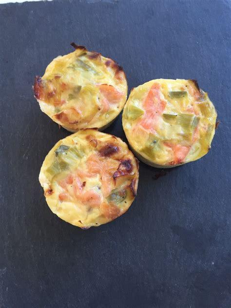 pate a muffin sale quiche sans p 226 te ou muffins poireaux saumon fum 233 et sa cuisine gourmande et l 233 g 232 re