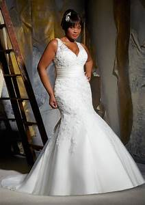full figured wedding dresses by mori lee bitsy bride With full figured wedding dresses