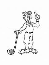 Golf Coloring Pages Printable Mycoloring sketch template